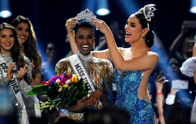 Финалистка Мисс Вселенная 2019