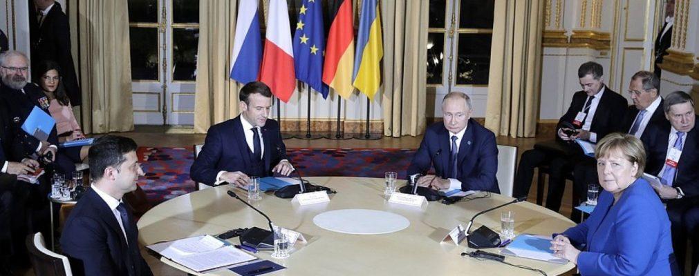Встреча в нормандском формате: о чем договорились Зеленский, Макрон, Меркель и Путин